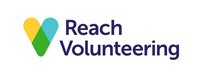 Reach Volunteering's logo